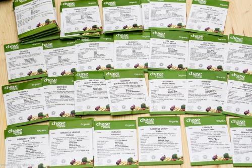 Semințe ecologice de sfeclă, mangold, varză, dovlecei